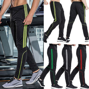 UK Mens Fleece Gym Trousers Elastic Waist Skinny Joggers Slim Fit UK Based S-XXL