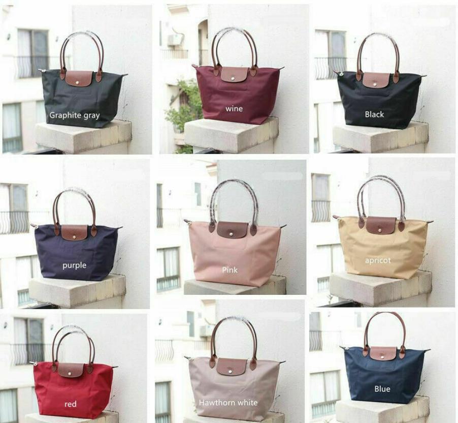 Women's New Longchamp Le Pliage Nylon Tote Handbag Travel Ba