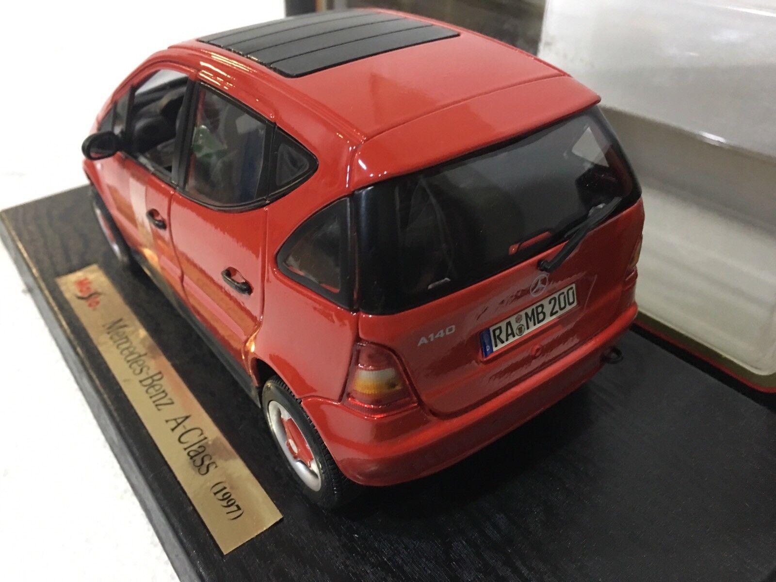 MAISTO Special Edition Edition Edition scala 1 18 MERCEDES-BENZ A-CLASS (1997) 31841 fd8489