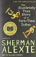 The Absolutely True Diary Of A Part-time Indian By Sherman Alexie, (paperback), on sale