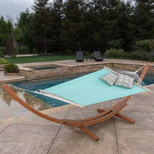 Weston Outdoor Hammock w// Wooden Base