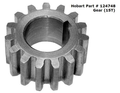 15T Gear For Hobart A120; A200 Mixers Part # 124748