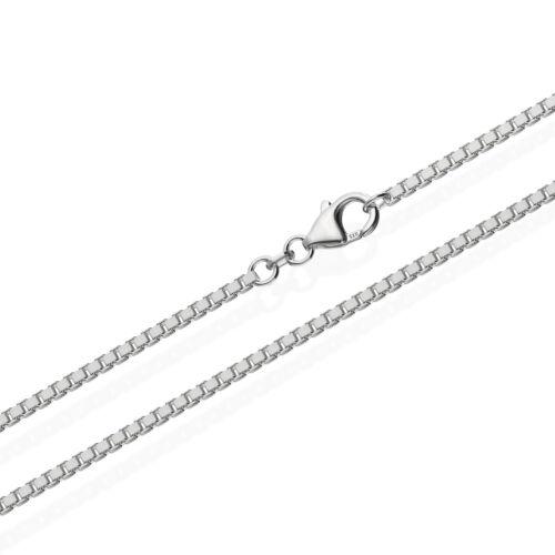 echte 925er Sterlingsilber Venezianerkette Silberkette 100cm 1,80mm 18,4gr 5995