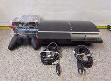 Sony Playstation 3 Video Game System PS3 CECHL01 Black