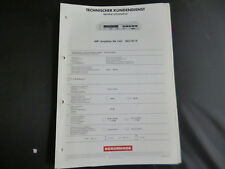 Original Service Manual  Nordmende PA 1351