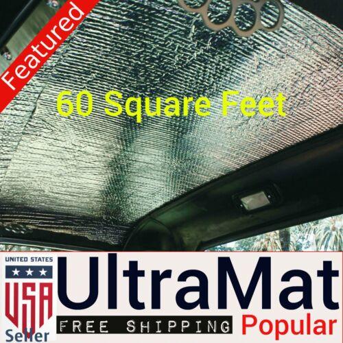 1958-1964 Impala 60 SqFt UltraMat Heat /& Sound Barrier 60 12 x 12 Tiles xl