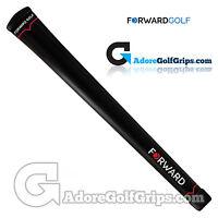 Forward Golf Club Grips - Black / Red X 9