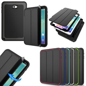 new style d9c7b 80683 Details about Waterproof/Dirt/Shockproof Stand Case For Samsung Galaxy Tab  A A6 10.1