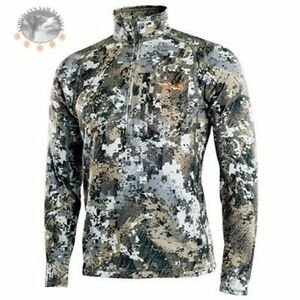 sitka gear Core Midweight Zip-T  Elevated optifade 10036 Polygiene® Odor control