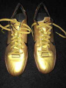 super popular 5901f 734a4 Image is loading Nike-Mercurial-Vapor-II-R9-Gold