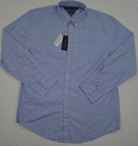 NWT-Men-039-s-Tommy-Hilfiger-Button-Front-Long-Sleeve-Casual-Shirt-NY-Fit-Floral