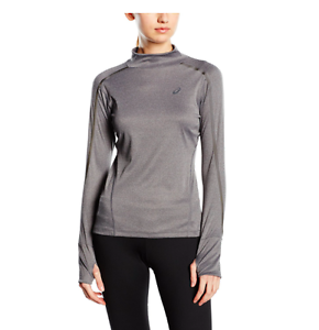be7644d0443d Asics Women's Lite-Show 1/2 Zip Long Sleeve Neck Top - XS | eBay