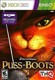 Puss In Boots Microsoft Xbox 360 2011 For Sale Online Ebay