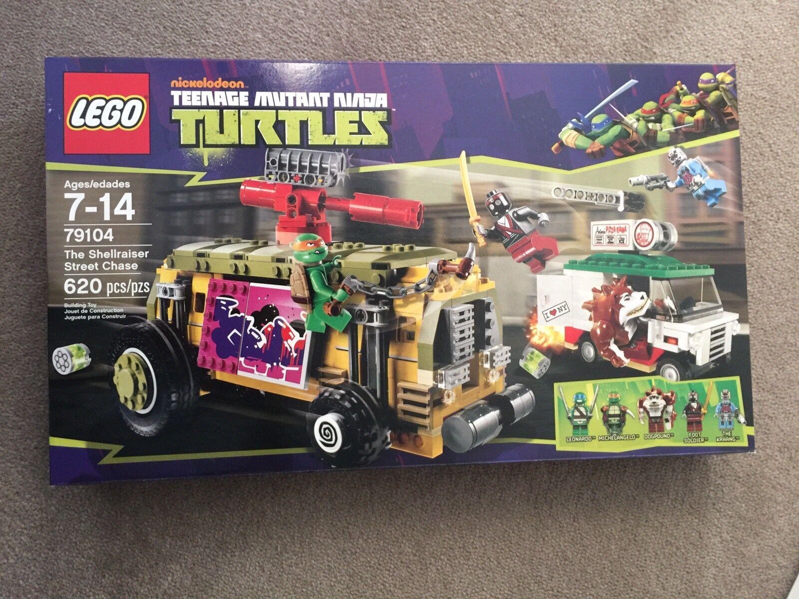 Lego Teenage Mutant Ninja Turtles 79104 The Shellraiser Street chase Tmnt