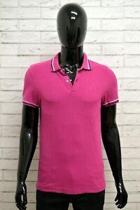 Polo-LOTTO-Uomo-Taglia-S-Maglietta-Maglia-Camicia-Shirt-Man-Cotone-Manica-Corta