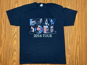 New Billy Joel In Concert Tour Logo Men/'s Long Sleeve Black T-Shirt Size S-3XL