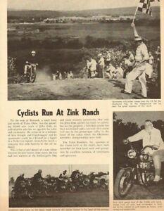 1964-Motorcycle-Run-at-Zink-Ranch-Tulsa-OK-1-Page-Vintage-Article