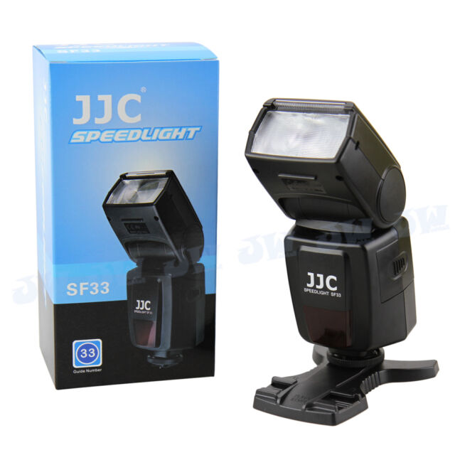 JJC External Flash Speedlite FOR Canon Nikon Pentax Fujifilm Olympus DSLR Camera