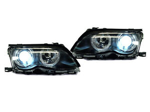 DEPO-Bi-Xenon-OEM-Replacement-Angel-Halo-Projector-Headlight-For-02-05-E46-4D-5D