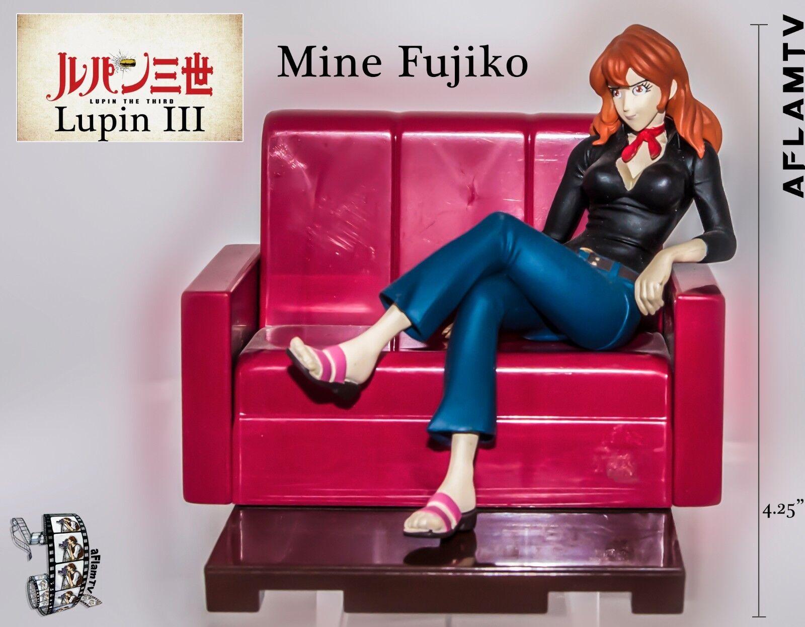 Lupin III The 36rd Third Family Figure set MINE FUJIKO Anime Banpresto sofa 2003