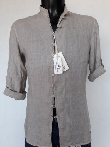 Forti 100 Tipo's Taglie Lino Donna Coreana Calibrata Puro Camicia Uomo dFIR6Cqw