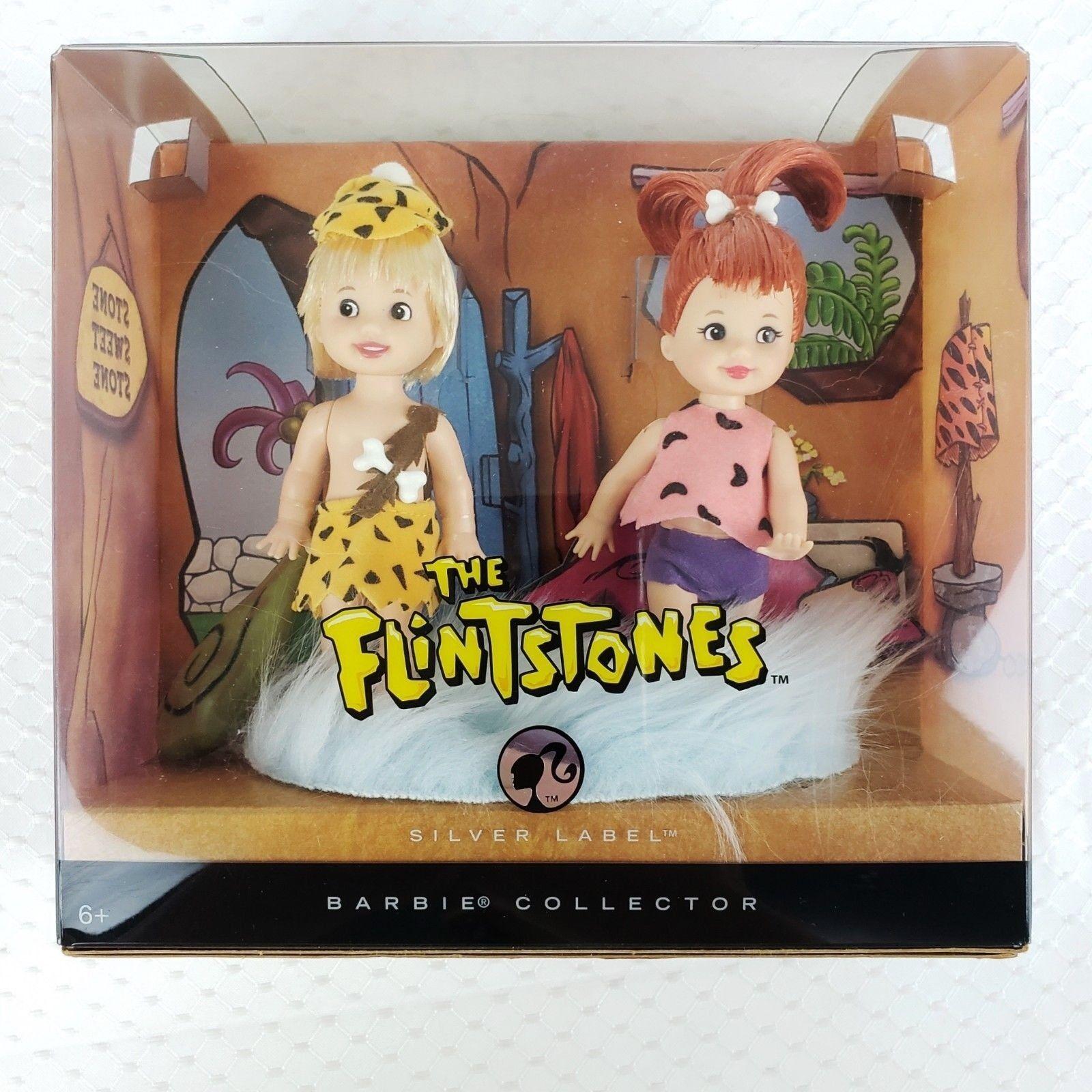 Los Picapiedra Pebbles & Bamm Bamm Muñecas Barbie Collector Collector Collector Edición Plata Nueva  excelentes precios