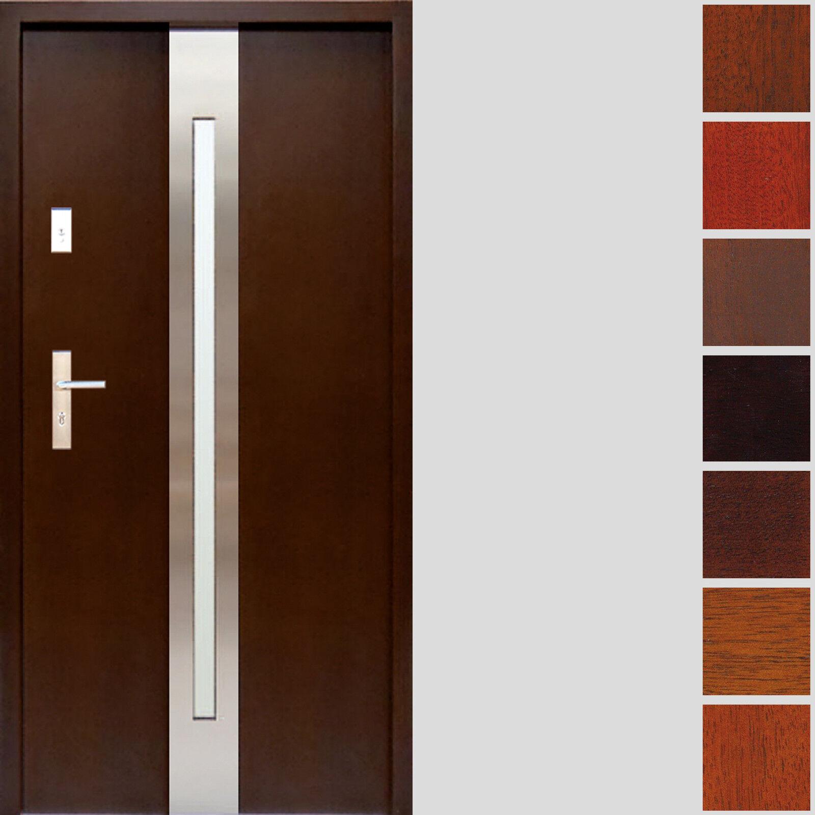 Holzaußentür Andre Tür Haustür Eingangstür Holtztür 80 100 74 mm Hauseingangstür