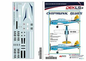 1-72-DH-Chipmunk-039-Chipmunk-Blues-034-VH-RVV-and-VH-RVK-DEKLS-II