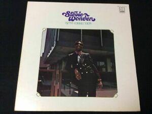 STEVIE WONDER BEST COLLECTION 1974 JAPAN Vinyl LP TAMLA MOTOWN SWX-10123