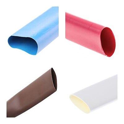 2:1 calore Strizzacervelli Tubazione Manicotto Elettrico Cavo//Filo Heatshrink TUBO TUTTI I COLORI