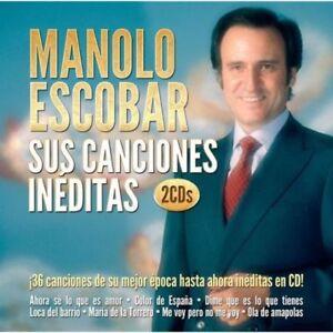 Manolo-Escobar-Sus-Canciones-Ineditas-2Cds-CD