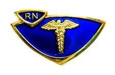 RN Pin Registered Nurse Medical Emblem Graduation Pinning Ceremony 900 Disc New