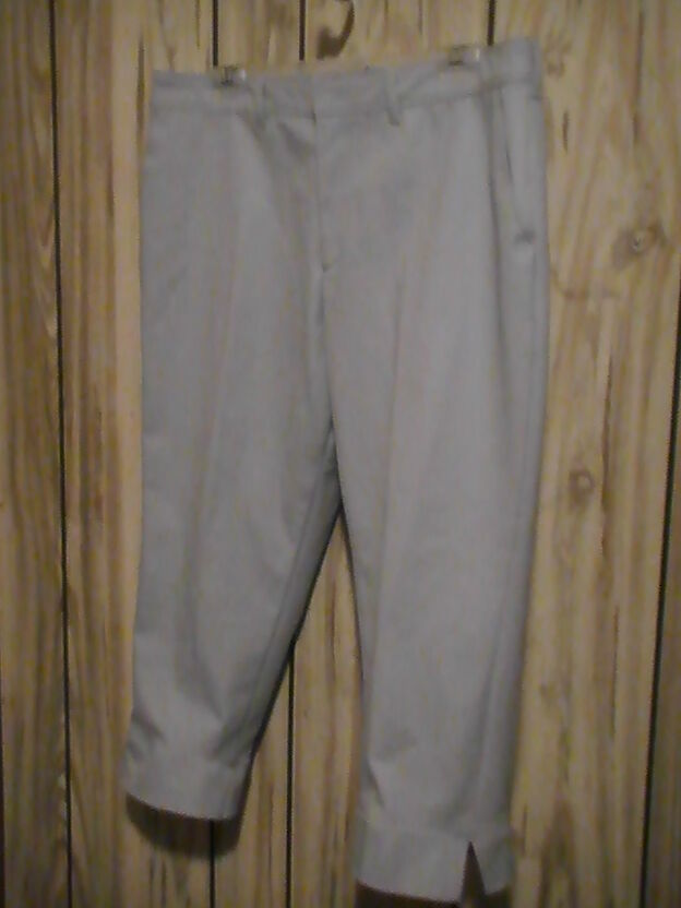 BOGNER  bluee Cotton stretch Cropped Capri Pants trouser Sz 36 waist NWT  330.00