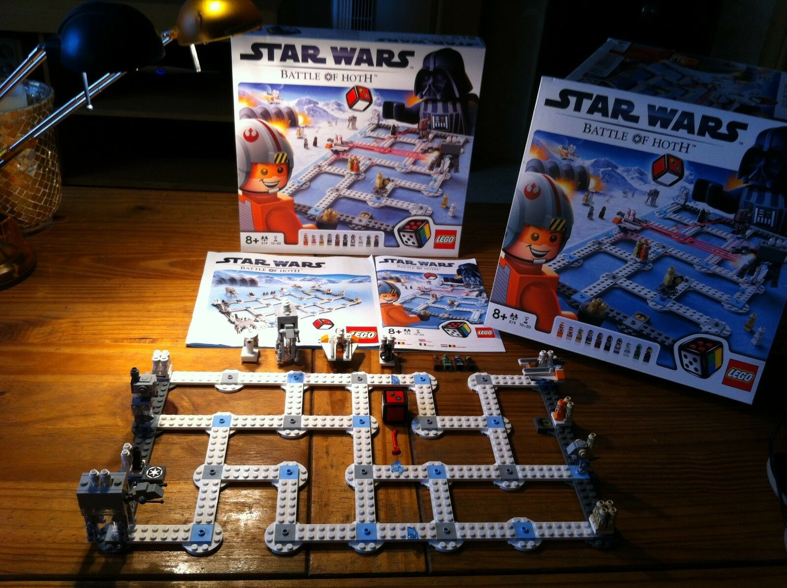 RARE Lego Set 3866 Star Wars Battle Of The Hoth Board Game  100% Complete
