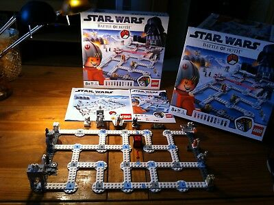 *RARE* Lego Set 3866 Star Wars Battle Of The Hoth Board Game  100/% Complete