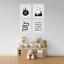 Lot-de-tirages-Photos-Pour-Garcons-Chambre-a-coucher-style-scandinave-Wild-Child-Set-2 miniature 2