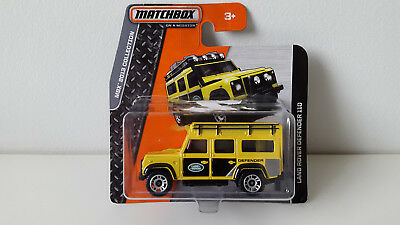 Matchbox LAND ROVER DEFENDER Modellauto model car NEU /& OVP