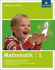 Alfons-Lernwelt-Mathematik-1-Ausgabe-2009-PC-MAC-Software-Zustand-gut