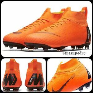Nike-JR-SUPERFLY-6-Elite-FG-Total-Orange-Taille-UK5-5-EUR38-5-AH7340-810-NEUF