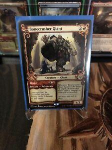 ELD Showcase BONECRUSHER GIANT 1x Rare Magic Throne of Eldraine MTG NM