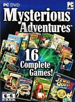 Mysterious Adventures 16 PACK (Microsoft Windows, 2011) Video Games