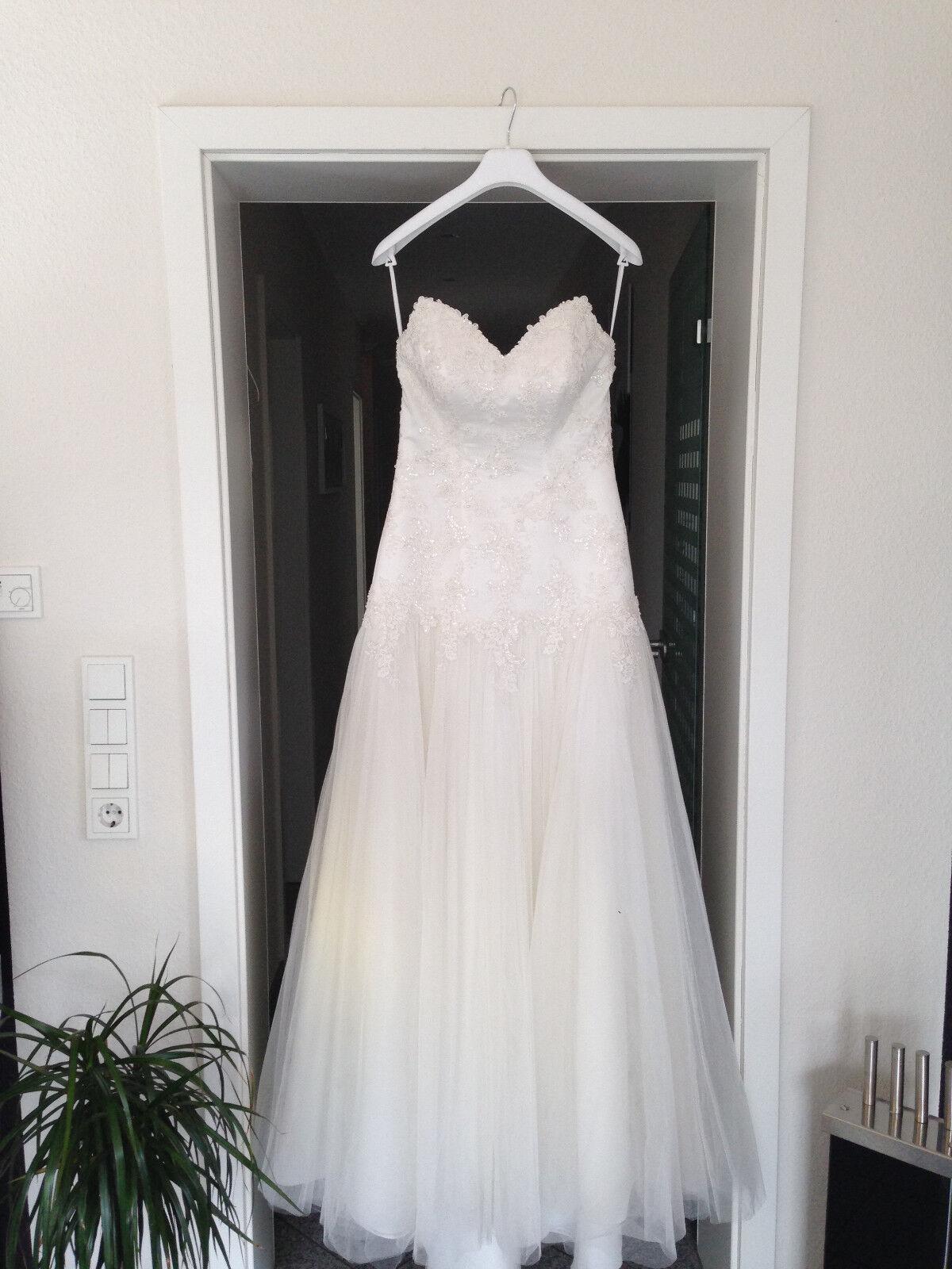Wunderschönes Brautkleid   Hochzeitskleid Hochzeitskleid Hochzeitskleid NEU   Gr.38  | Erste Kunden Eine Vollständige Palette Von Spezifikationen  | Niedriger Preis  | Hervorragende Eigenschaften  a91d23