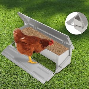 4 7kg Automatic Chicken Feeder Treadle Self Opening