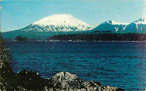 Postcard-Mount-Edgecomb-Sitka-AK-Alaska-The-49th-State-Posted-1963