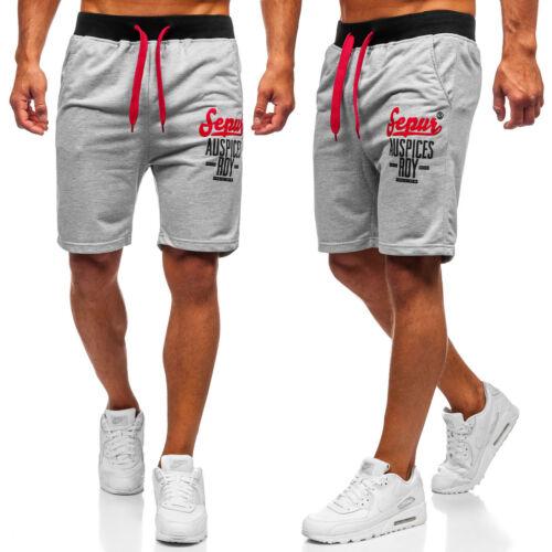 Shorts Bermudas Kurzhose Fitness Kurze Jogging Sporthose Herren Mix BOLF Camo