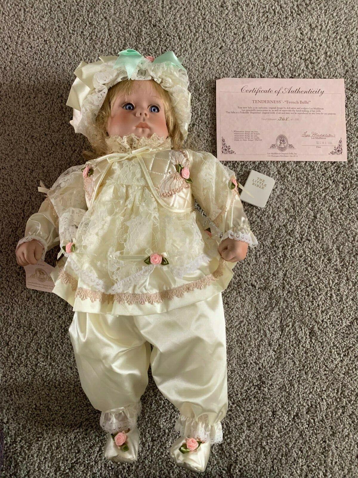 Lee Middleton Original-Ternura -  francés bébe   Stephanie  Muñeca de Vinilo