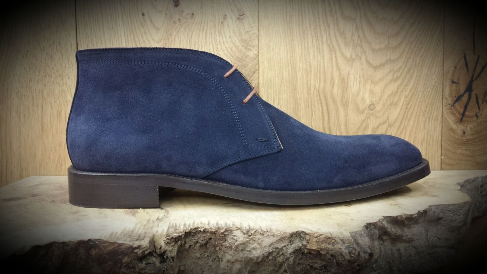 PARADIGMA // 7428 // Handmade Hombre Navy botas // // // REDUCED Was 135.00 55c543