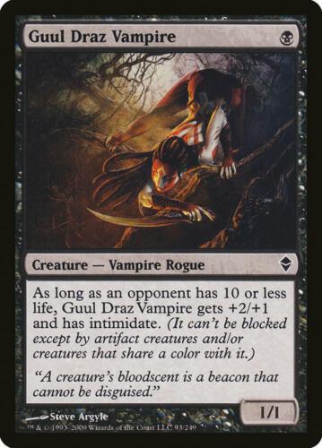 Guul Draz Vampire Zendikar Common EN NM MTG