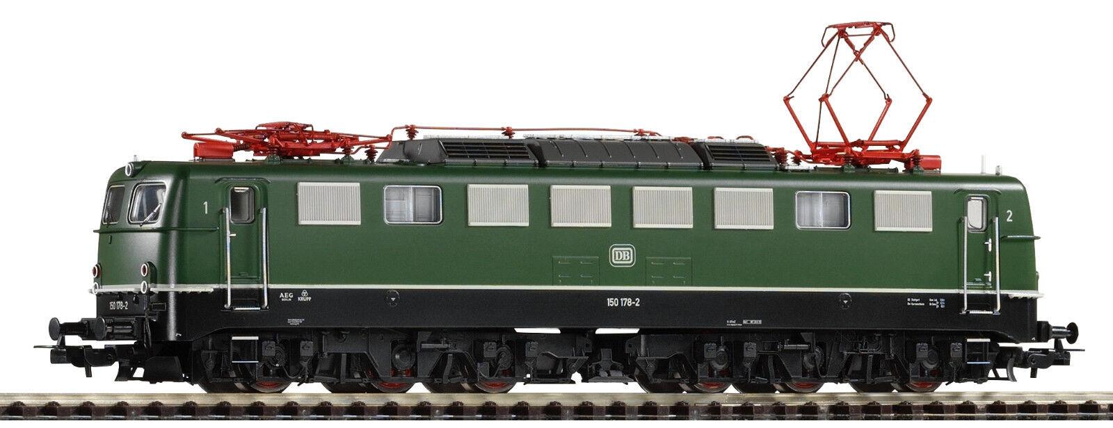 Piko 51640 elektrolokomotive br 150 de la DB en verde EP. IV artículo nuevo con embalaje original
