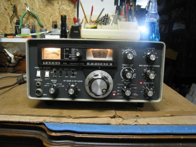 Vintage Yaesu  FT 101B Amateur Ham Radio Transceiver